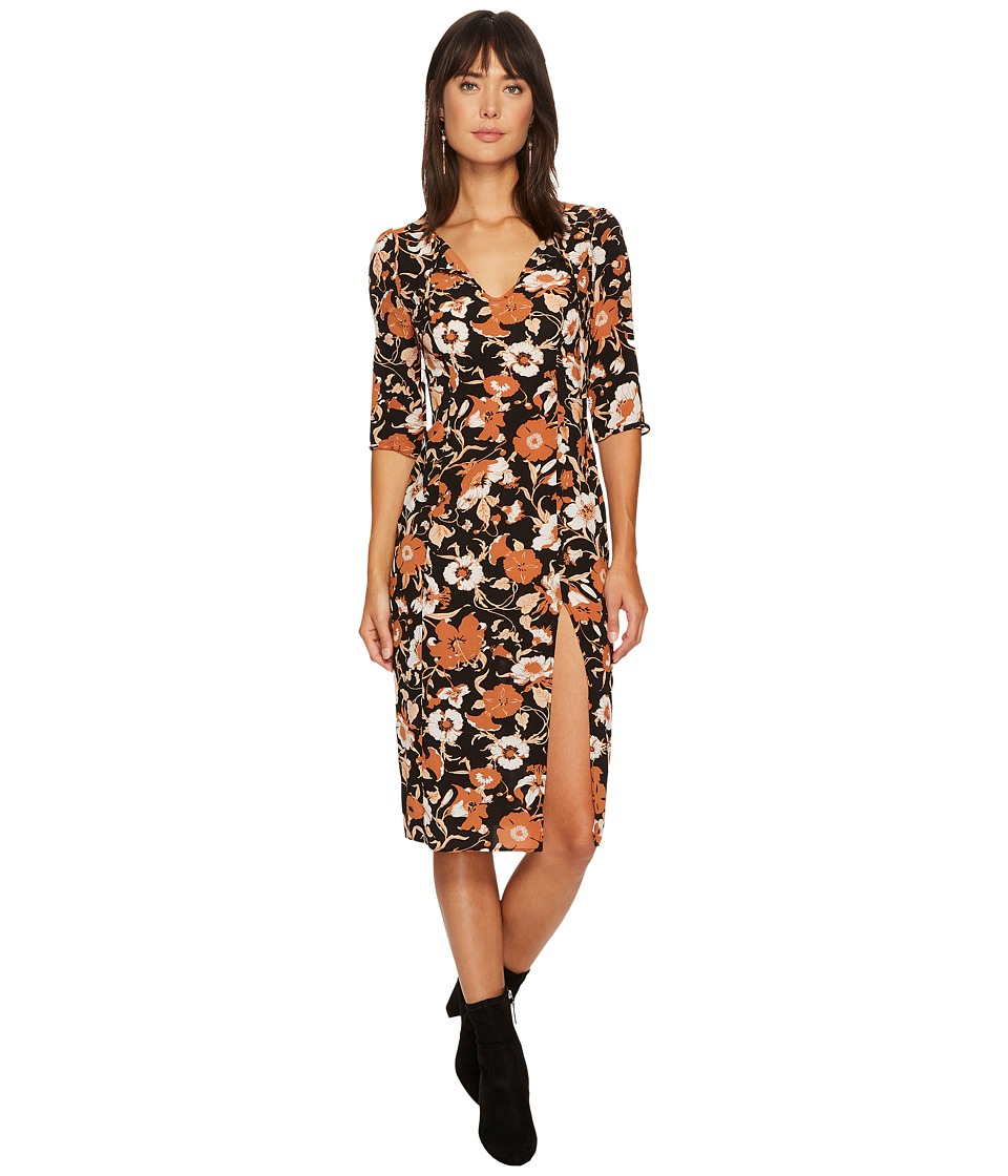 For Love and Lemons - Floret Print Midi Dress