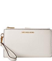 MICHAEL Michael Kors - Adele Double Zip Wristlet 7+