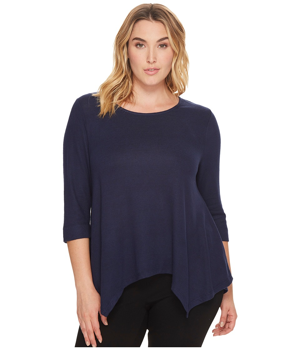 B Collection by Bobeau Curvy - Plus Size Langley Top