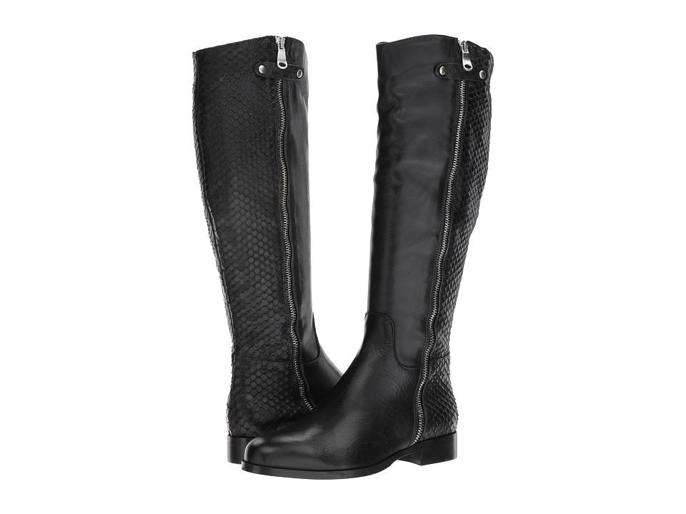 Cordani Blakely (Black Leather/Python) Women