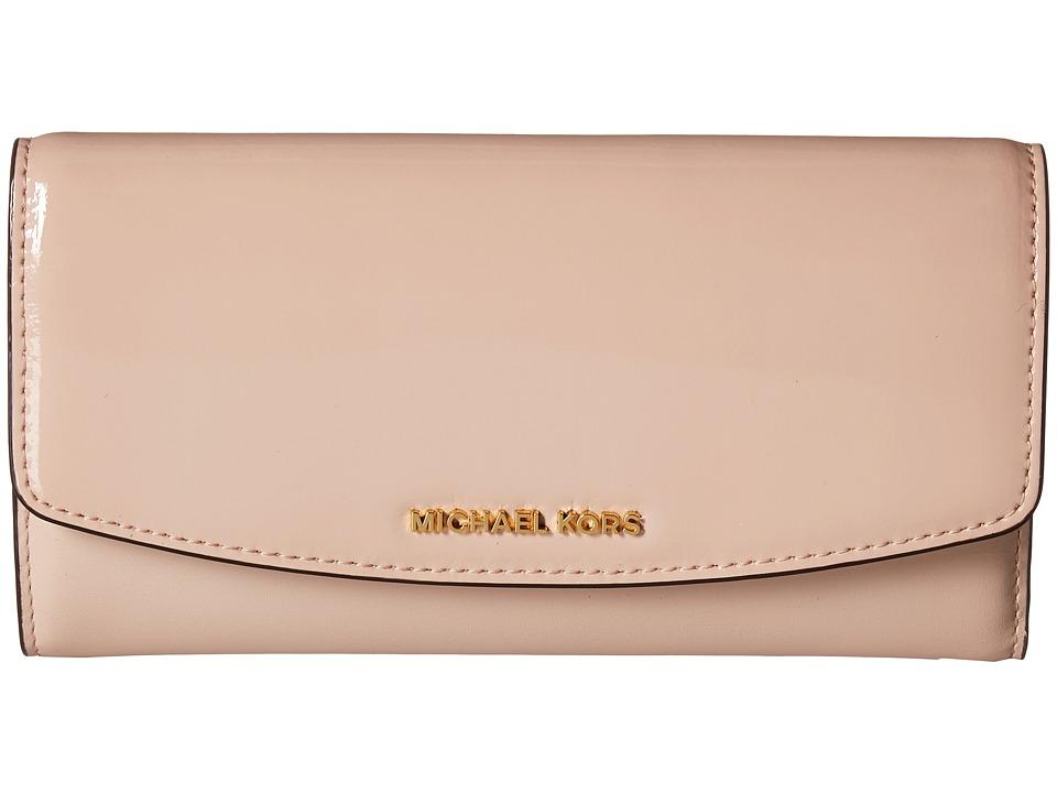 bd7fcbb22fff ... MICHAEL Michael Kors Ava Large Trifold Wallet (Ballet) Wallet Handbags  ...