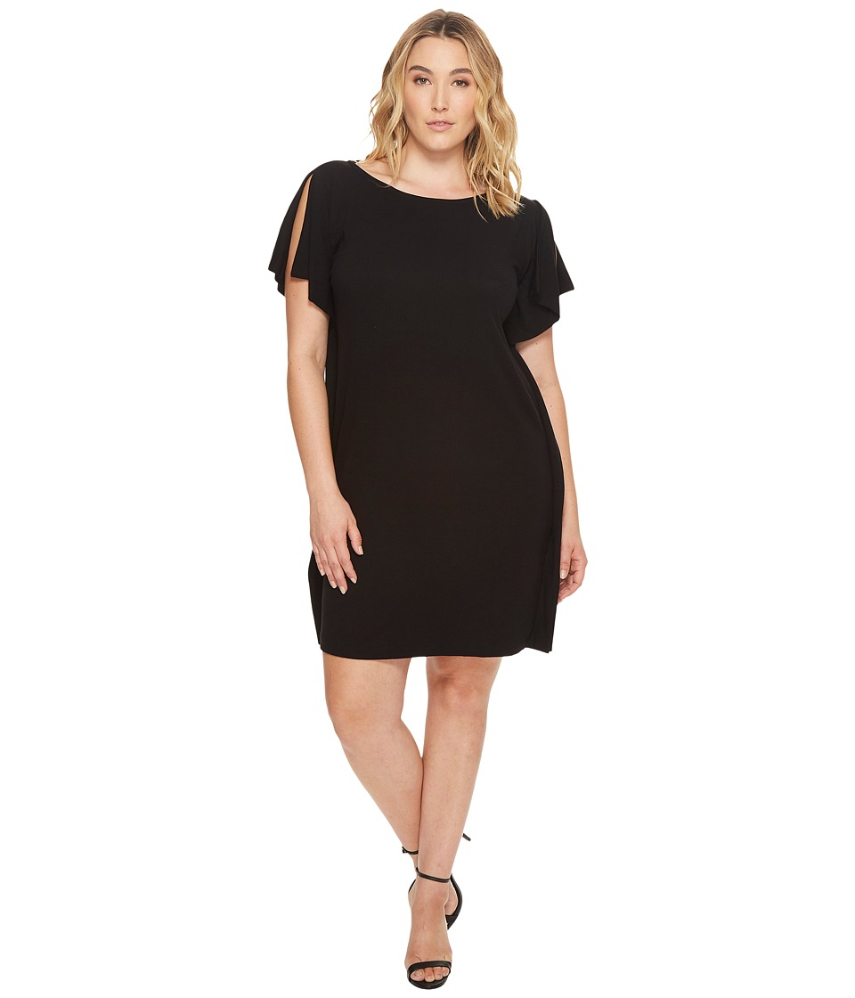 B Collection by Bobeau - Plus Size Rafferty Dolman Knit Dress