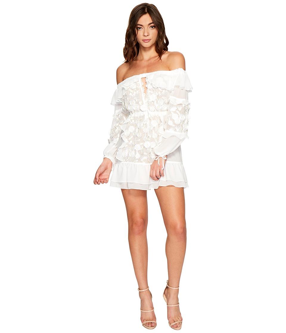 For Love and Lemons Dress Off Shoulder (White) Women