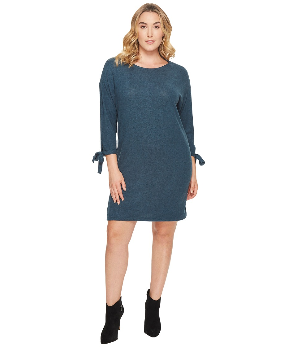 B Collection by Bobeau - Plus Size Lanna Tie Sleeve Knit Dress