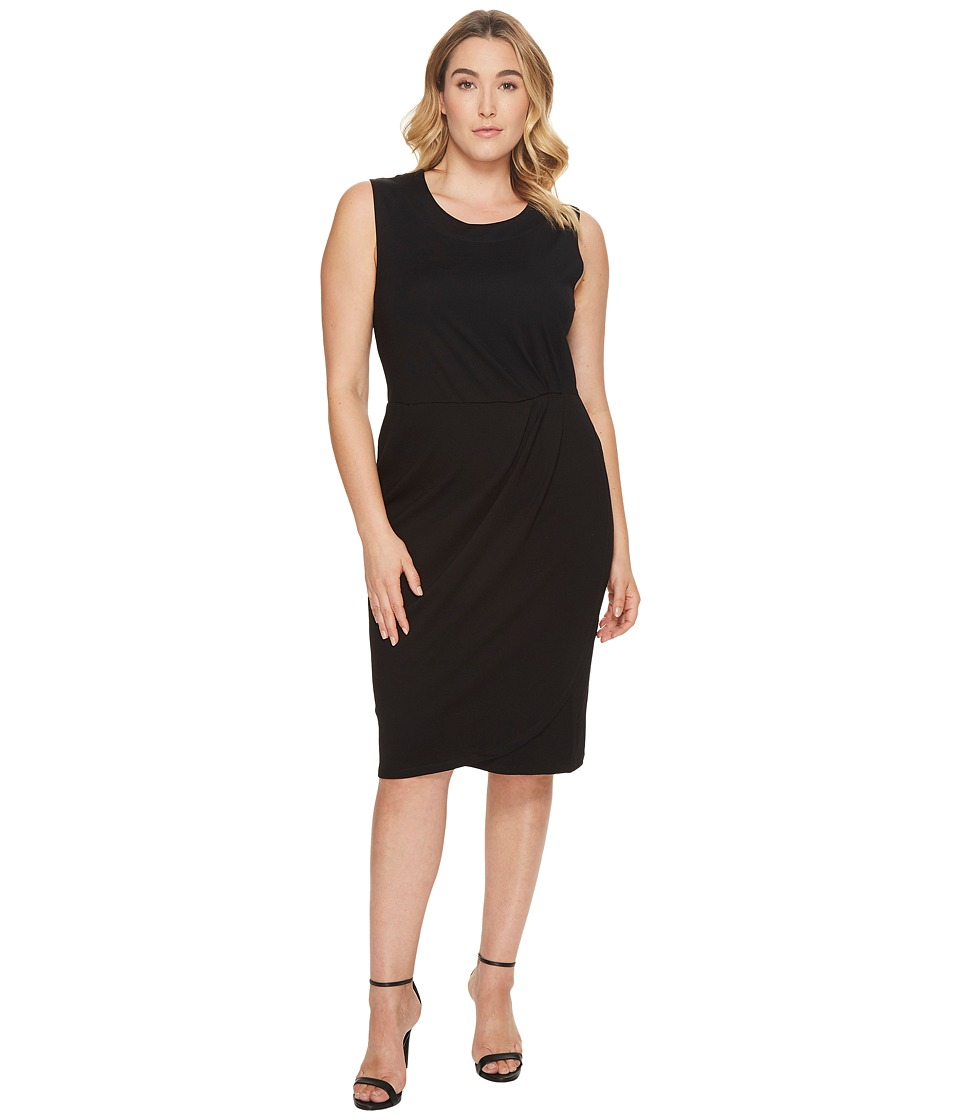 B Collection by Bobeau - Plus Size Capri Ponte Dress