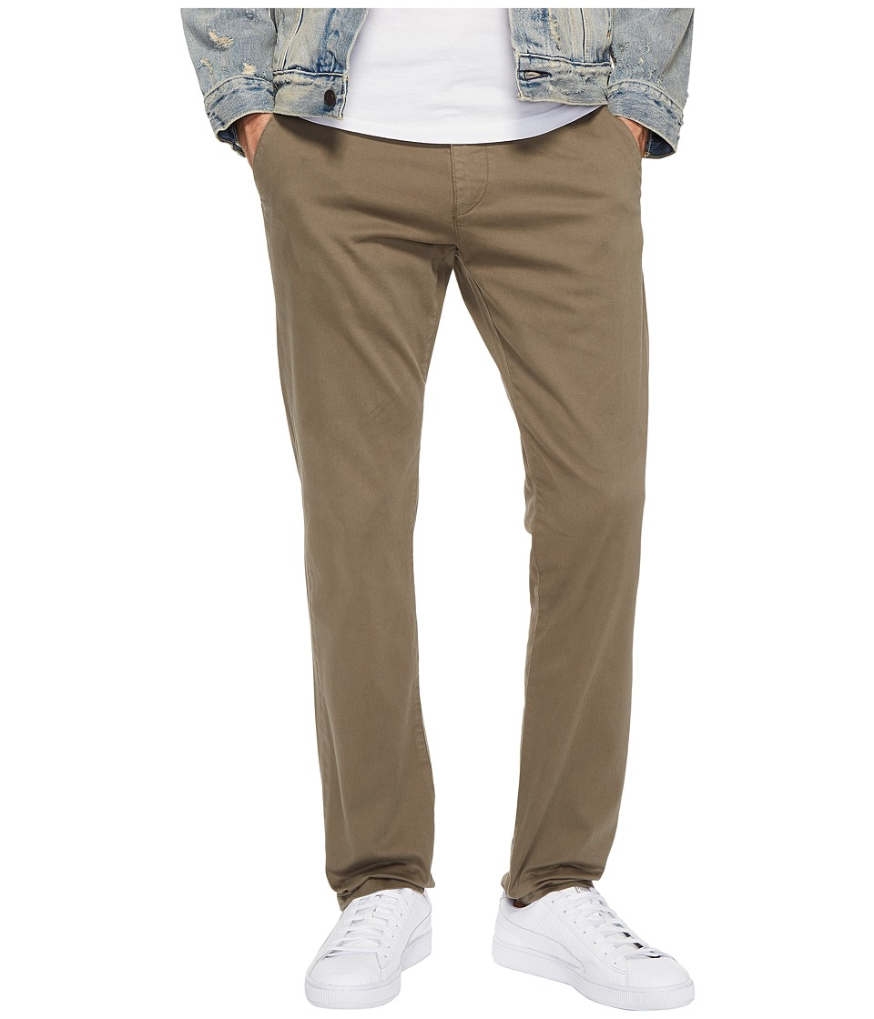 Mavi Jeans Johnny Slim Leg Chino in Dusty Olive (Dusty Olive) Men