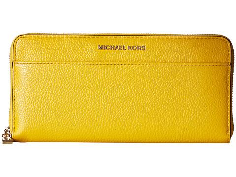 MICHAEL Michael Kors Mercer Pocket Zip Around Continental