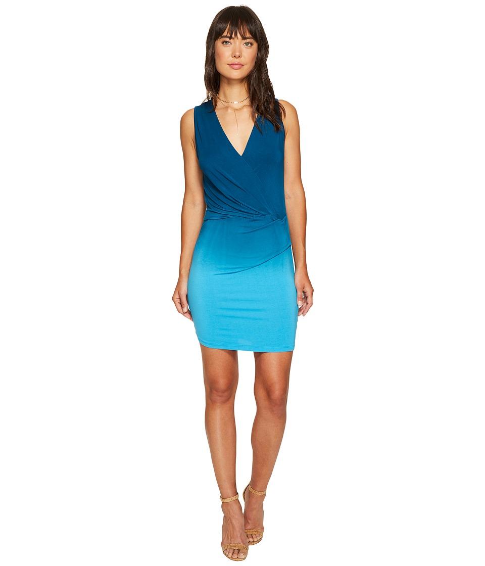 Young Fabulous & Broke Karenna Dress (Pool Blue/Ombre) Women