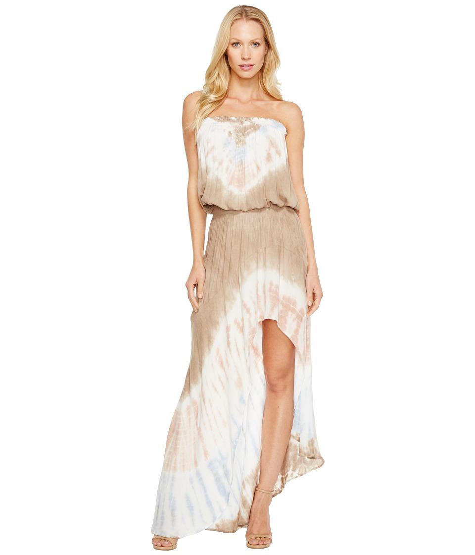 Young Fabulous & Broke Kylie Dress (Mocha White/Diamond) Women