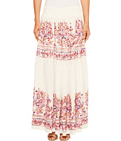 ROMEO & JULIET COUTURE - Embroidery Viscose Woven Maxi Skirt
