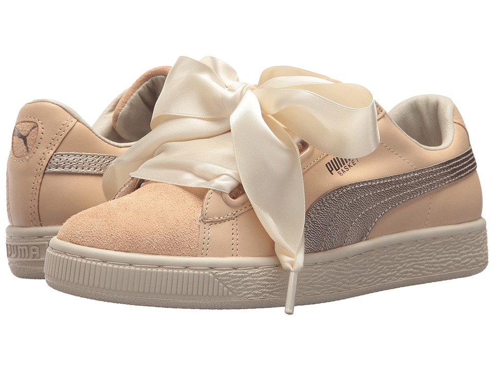 PUMA Basket Heart Up (Natural Vachetta/Natural Vachetta) Women