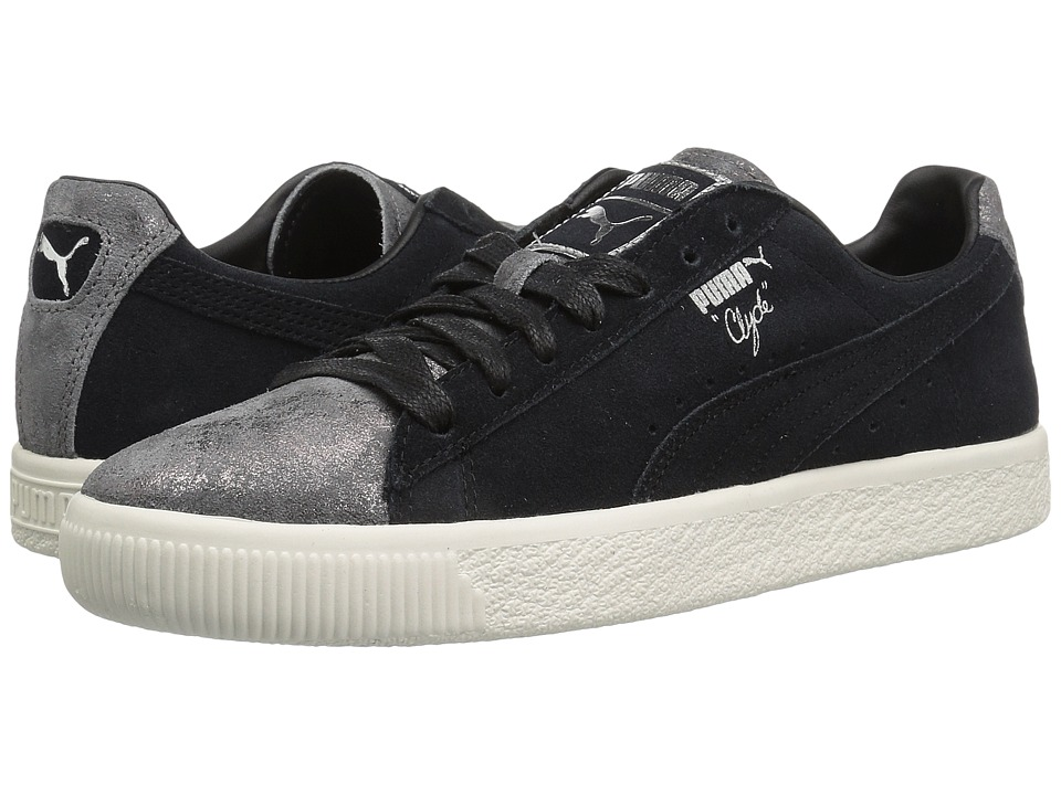 PUMA Clyde Frosted (Puma Black/Puma Black) Women