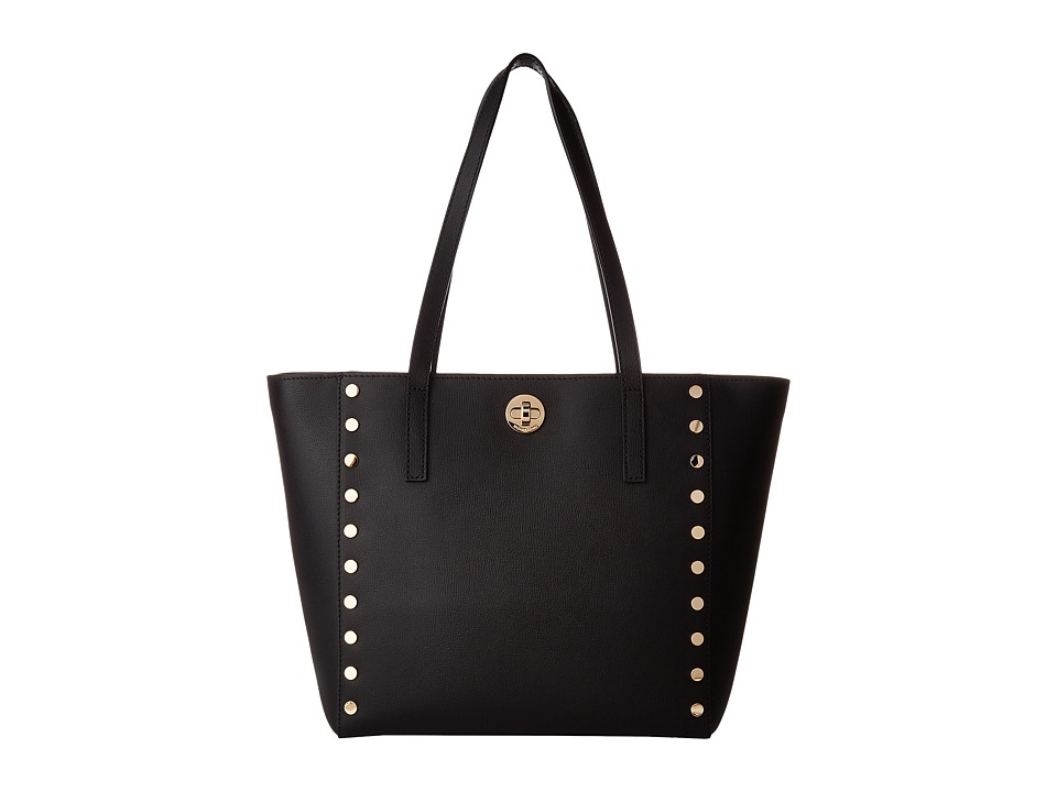Michael Kors Rivington Stud Medium Tote (Black) Tote Hand...