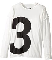 Nununu - Number T-Shirt (Little Kids/Big Kids)