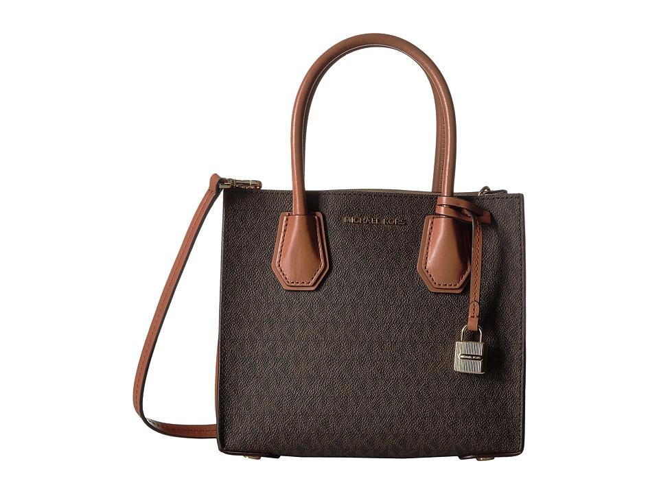 MICHAEL Michael Kors Mercer Medium Messenger (Brown) Messenger Bags