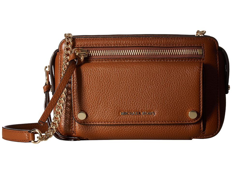 MICHAEL Michael Kors Mitchell Medium Messenger (Luggage) Messenger Bags