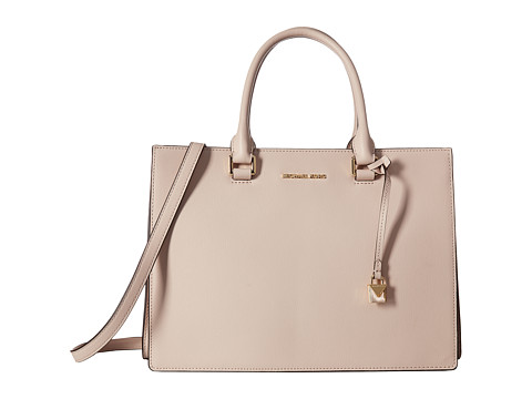 MICHAEL Michael Kors Sutton Medium Gusset Satchel - Soft Pink