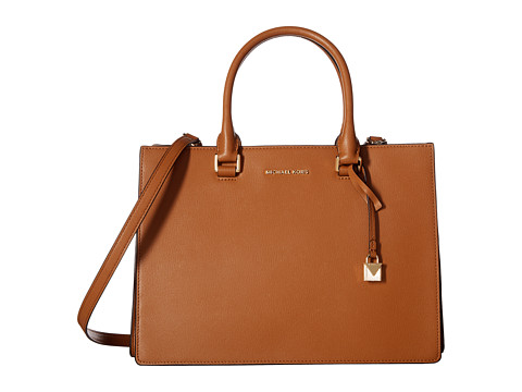 MICHAEL Michael Kors Sutton Medium Gusset Satchel - Acorn
