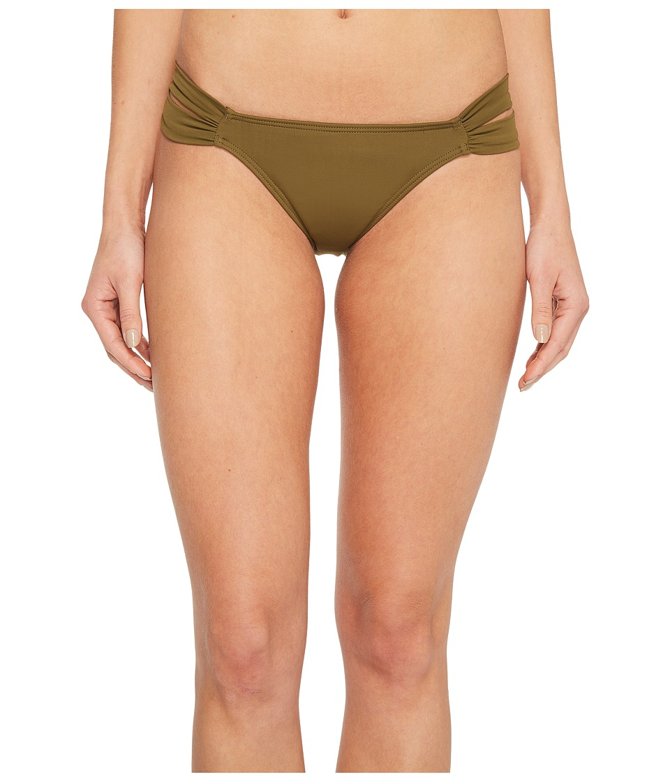 O'Neill Salt Water Solids Tab Side Bottoms (Olive)
