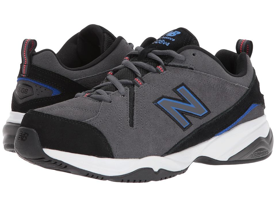 New Balance - MX608v4 (Grey/Blue) Mens  Shoes