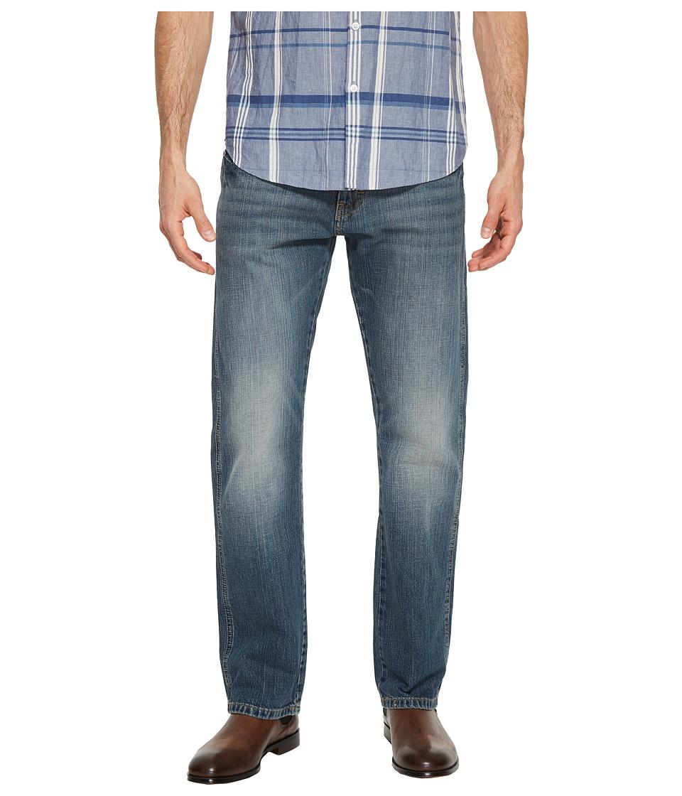 Wrangler - Retro Slim Straight Jeans (Dark Knight) Mens Jeans