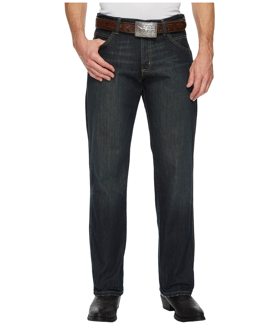 Wrangler - Retro Relaxed Straight Jeans (Worn Black) Mens Jeans