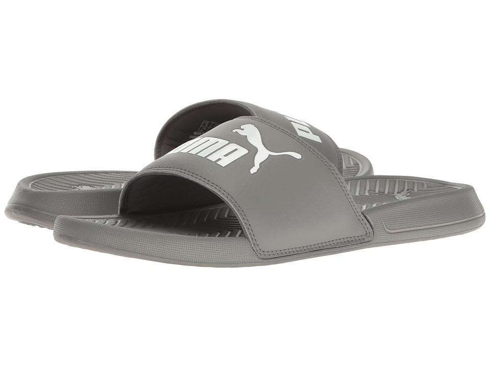 PUMA - Popcat (Quiet Shade/Puma White) Men's Sandals