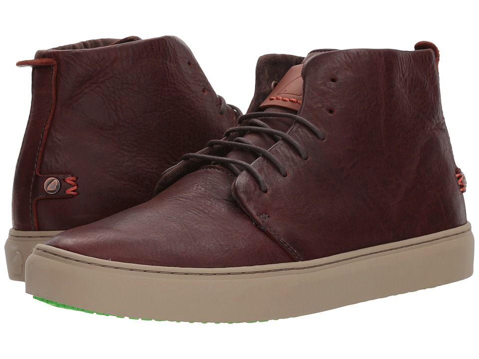 Satorisan Bywater-Pull Up Leather (Polo Brown) Men's Shoes