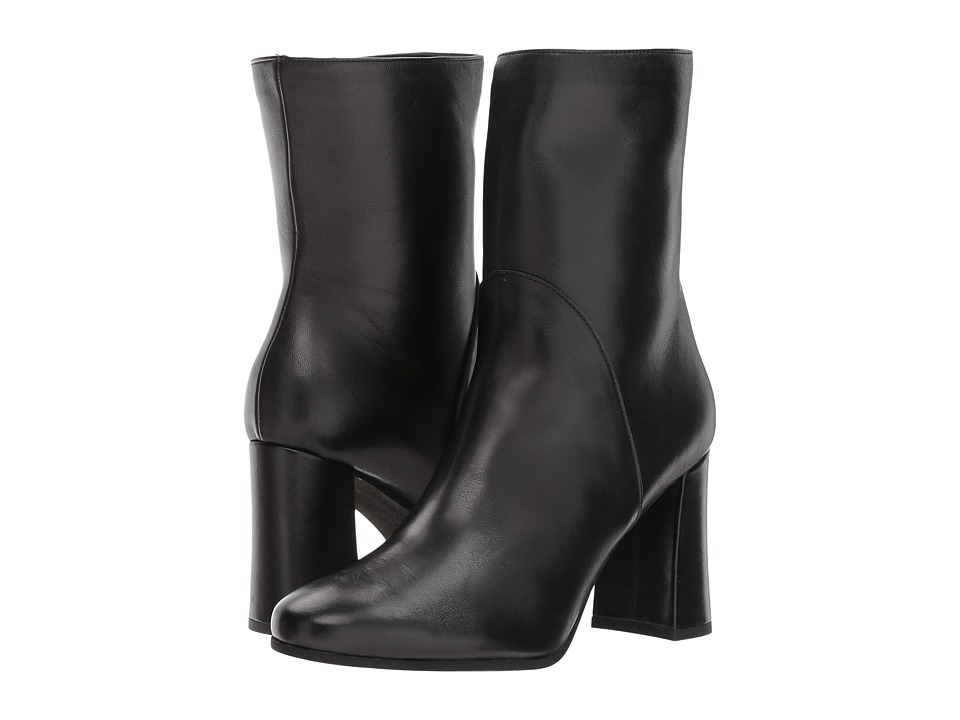 Cordani - Hermes (Black Leather) Women's Dress Zip Boots