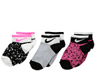 Nike Kids 3-Pair Pack Tribal Low Socks (Toddler)