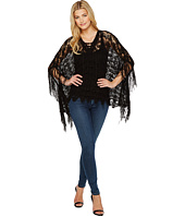 Steve Madden - On the Fringe Knit Poncho