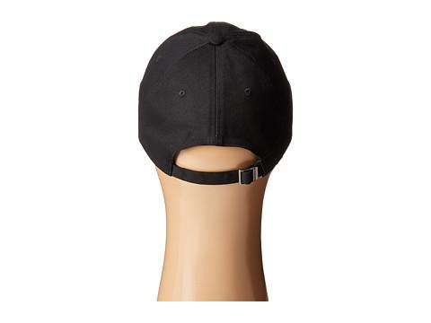 STEVE MADDEN Smiley Face Patch Baseball Cap in Black