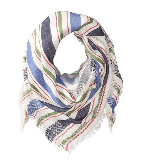 Steve Madden Blanket Stripe Triangle Day Wrap