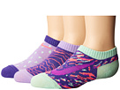 Nike Kids 3-Pair Pack Graphic No Show (Toddler)