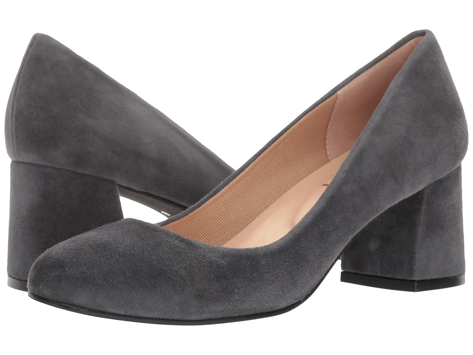 French Sole Trance (Dark Grey Suede) Flats