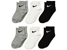 Nike Kids - 6-Pair Pack Quarter Socks (Toddler)