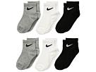 Nike Kids - 6-Pair Pack Quarter Socks (Toddler)