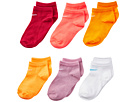 Nike Kids 6-Pair Pack Colorful Low Cut Socks (Toddler)