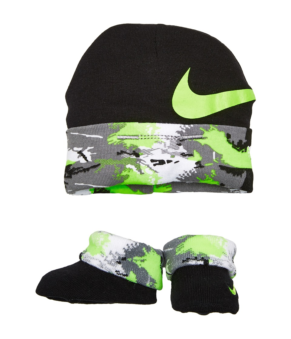 Nike Kids 2-Pair Pack Primal Hat Bootie (Infant) (Black) Boys Shoes