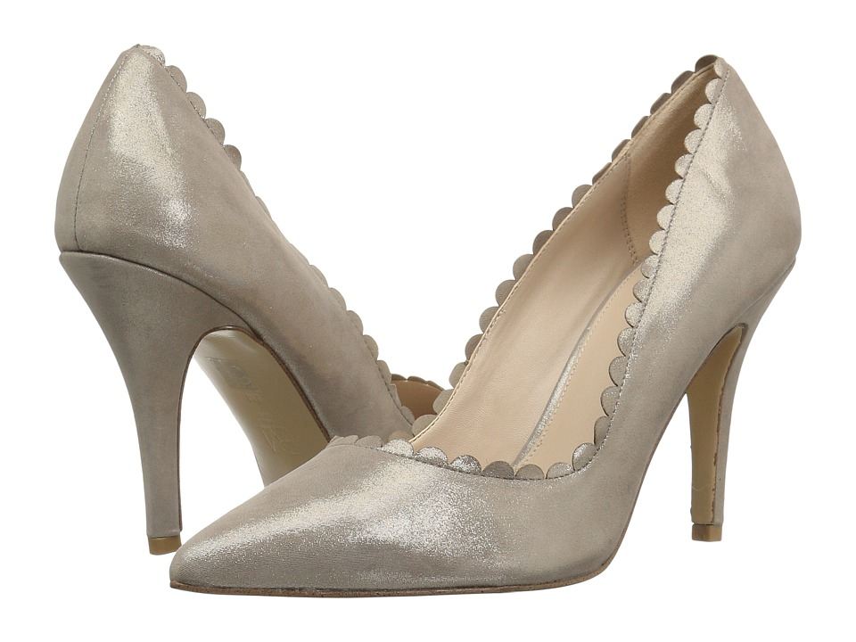 Pelle Moda Vail (Taupe Suede) Women's Shoes