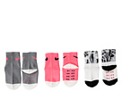 Nike Kids - 3-Pair Pack Daytrip Cuff Grippies (Infant/Toddler)