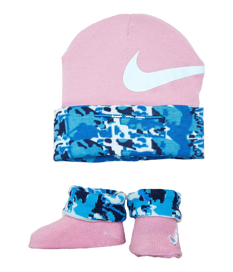 Nike Kids 2-Pair Pack Daytrip Hat Bootie (Infant) (Orchid) Girls Shoes