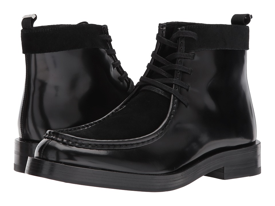 Calvin Klein Rafi (Black Box Leather/Calf Suede) Men