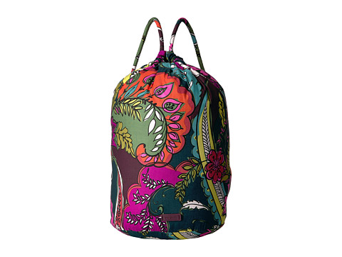 Vera Bradley Luggage Iconic Ditty Bag - Autumn Leaves