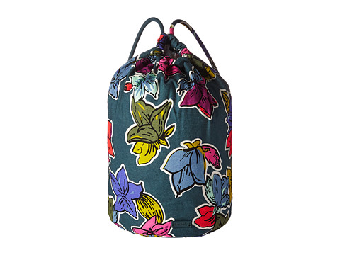 Vera Bradley Luggage Iconic Ditty Bag - Falling Flowers