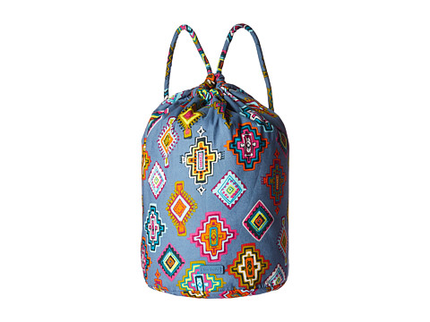 Vera Bradley Luggage Iconic Ditty Bag - Painted Medallions