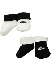 Nike Kids - 2-Pair Pack Futura Booties (Infant)