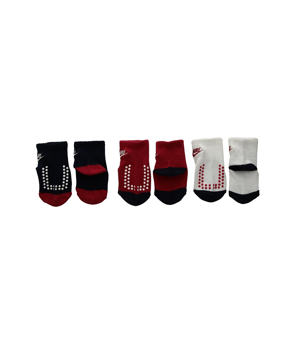 Nike Kids - 3-Pair Pack Futura Gripper Socks