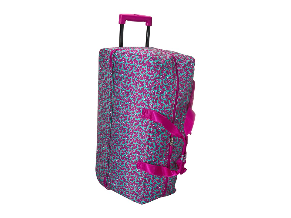 Vera Bradley Luggage - Lighten Up Large Wheeled Duffel (D...