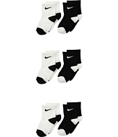 Nike Kids - 6-Pair Pack Swoosh Logo Socks (Infant/Toddler)